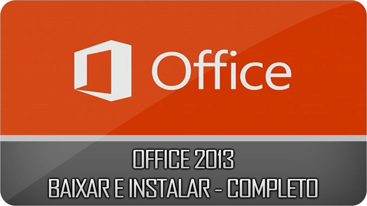 Baixar Office 2013 Grátis